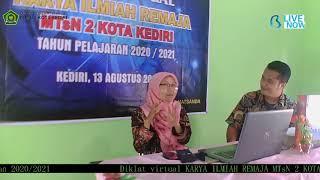 Live Streaming DIKLAT KIR VIRTUAL MTsN 2 KOTA KEDIRI