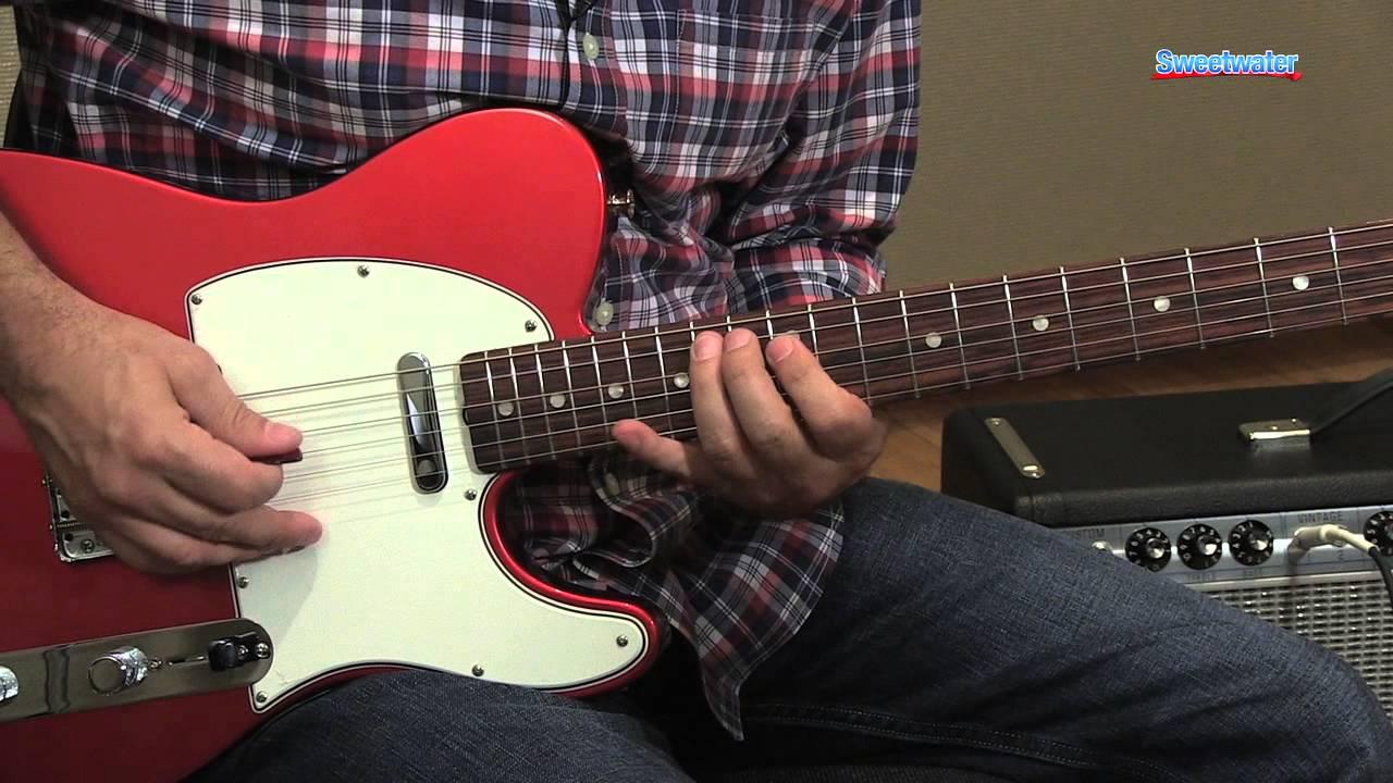 fender american vintage 39 64 telecaster electric guitar demo sweetwater sound youtube. Black Bedroom Furniture Sets. Home Design Ideas