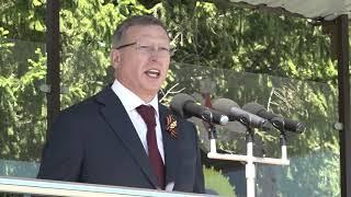 Александр Бурков принял участие в церемонии вручения дипломов выпускникам Омского автобронетанкового инженерного института