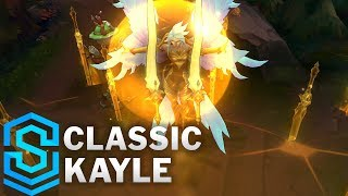 Classic Kayle, the Righteous - Ability Preview - League of Legends