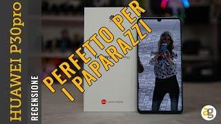 Recensione HUAWEI P30pro perfetto per i PAPARAZZI! Zoom 50x