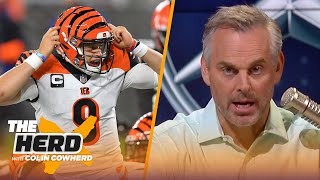 Baker is 4th best QB in AFC North, Burrow is real, talks Week 2 for Dallas — Colin | NFL | THE HERD