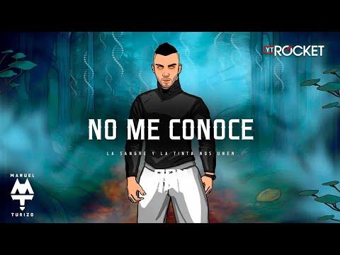 No Me Conoce - MTZ Manuel Turizo | Video Lyric