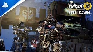 Fallout 76 : aube d'acier saison 3 :  bande-annonce