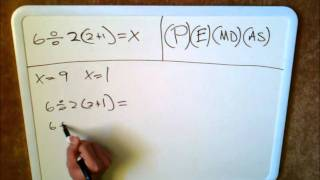 6 ÷ 2 (2 + 1) = CORRECT WAY TO SOLVE
