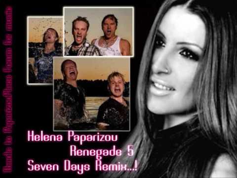 Helena Paparizou feat Renegade Five | Seven Days (Remix)