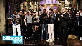 'SNL' Season 43 Blooper Reel With Donald Glover, Ryan Gosling & More | Billboard News