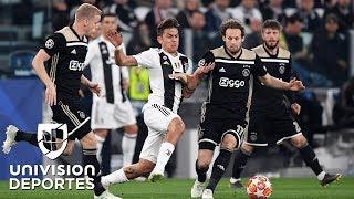 Juventus 1-2 Ajax – GOLES Y RESUMEN – VUELTA CUARTOS DE FINAL – UEFA Champions League
