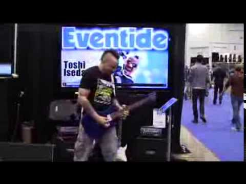 EVENTIDE with TOSHI ISEDA - NAMM 2014 - Product Playtest