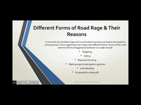 Road Rage - A Top Reason Behind Auto Accidents