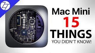 NEW Mac Mini - 15 Things You Didn't Know!
