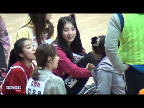 120108 miss A Suzy Interactions with Idols @ Idol Sport Championship