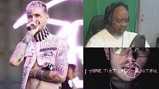 Dad Reacts to Lil Peep - Life is Beautiful
