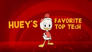Huey's Top Tech 🔦| DuckTales | Disney Channel
