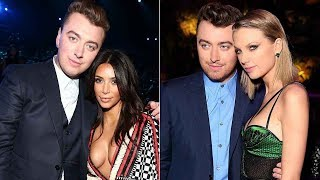 Sam Smith Debates Kim Kardashian Vs  Taylor Swift, Says He Doesn't Know The Singer 'Too
