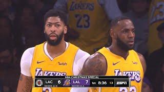 LA Lakers vs LA Clippers 1st Half Highlights | December 25, 2019-20 NBA Season