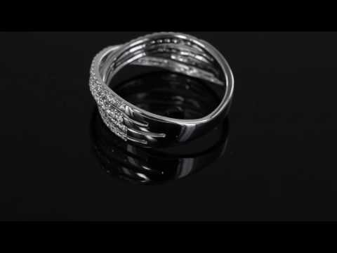 Browns Family Jewellers Twisted Diamond Dress Ring