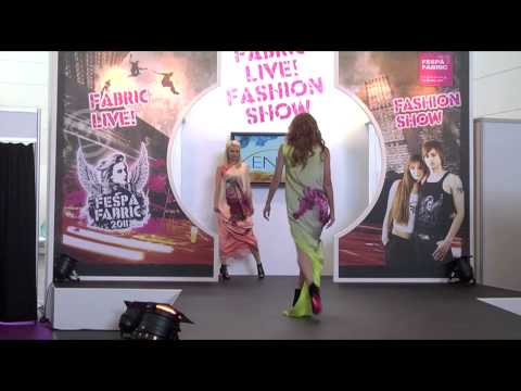 Xennia Fashion Show - from FESPA Fabric
