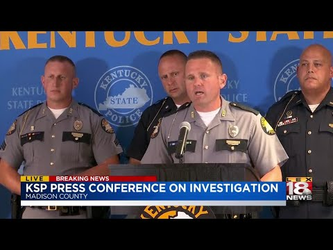 Man Arrested In Connection With Savannah Spurlock Case/KSP News Conference
