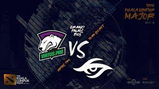 [DOTA 2 LIVE PH] Virtus.pro VS Team Secret |Bo5| The Kuala Lumpur Major Main Stage Grand finals