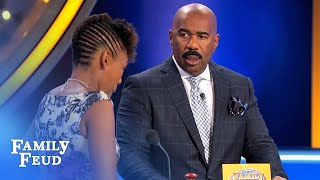 YEP. That would be WEIRD | Family Feud