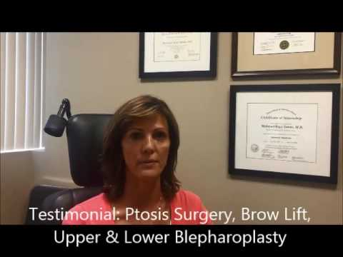Upper & Lower Blepharoplasty Brow Lift Ptosis Surgery