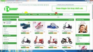 Hướng dẫn tạo website bán hàng trên nền tảng blogspot