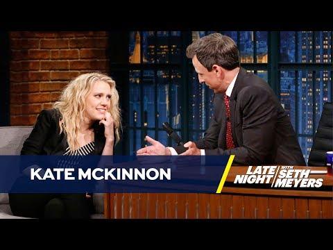 Kate McKinnon Reenacts Jeff Sessions' Senate Testimony