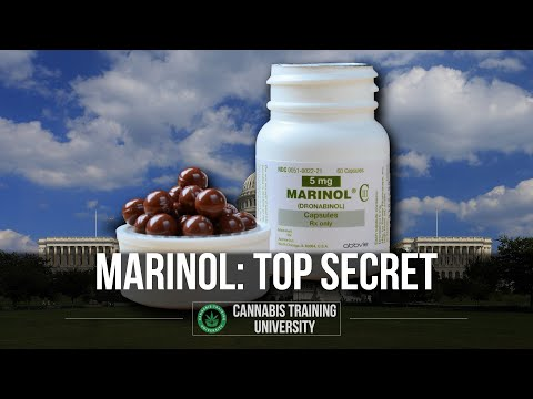 US GOVERNMENT MARIJUANA-TOP SECRET-MARINOL