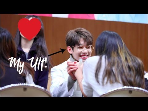 MEETING MY ULTIMATE BIAS | Fansign Experience