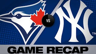 Yankees set MLB home run record in a 4-3 win | Blue Jays-Yankees Game Highlights 6/25/19
