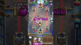 Clash Royale - Playing with a deck with no Win Conditions! - Brute Force - Great attack and Defense!