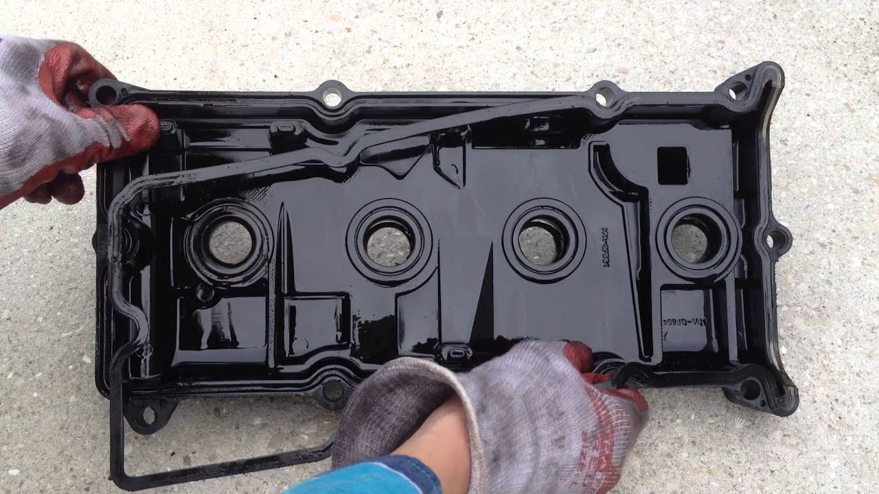 How To Fix Oil Leak - Valve Cover Gasket Replacement ...