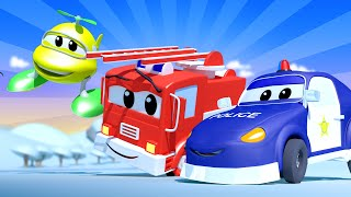 Baby Cars -  The Baby Car Patrol - Car City ! Cars and Trucks Cartoon for kids