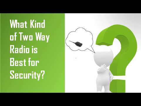 Security Two Way Radios