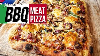 BBQ Meat Pizza