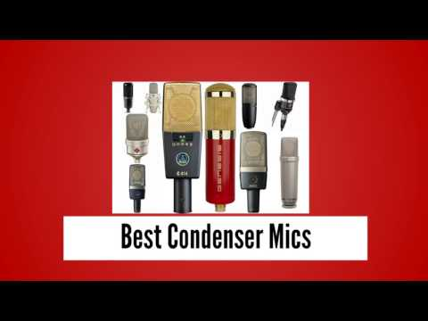 Condenser Mics Review