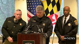 Officials give update on shooting at high school in Maryland