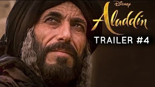 Aladdin(2019) - TRAILER #4 - Mena Massoud, Naomi Scott Film (RE-IMAGINED)