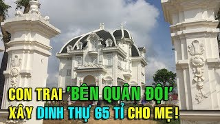 Ngôi biệt thự rộng 2000m2 của cụ bà 78 tuổi sống 1 mình ở Hà Tĩnh