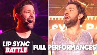 "John Krasinski Performs ""Bye Bye Bye"" & ""Proud Mary"" | Lip Sync Battle"