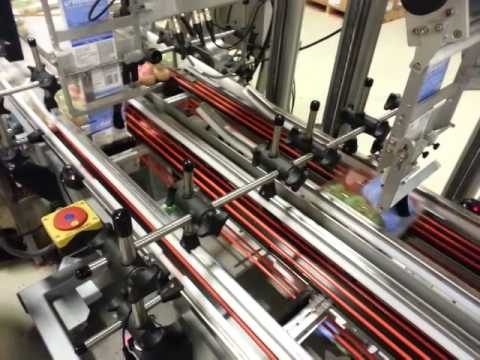 Model 610CS Clam Shell Labeling System