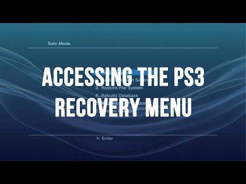 Safe Mode on PlayStation 3