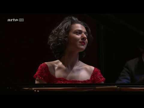 Khatia Buniatishvili : Rachmaninoff Piano Concerto No.2 2nd Movement  arte HD