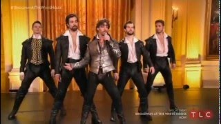 """Something Rotten! Performs """"Hard To Be The Bard"""" at """"Broadway In The White House"""""""