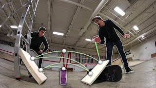 ULTIMATE GAME OF PONG! | PING PONG TRICKSHOTS!