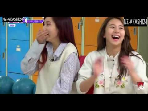 [Eng Sub] Twice shows off their expert bowling skills