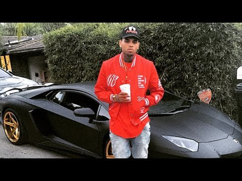 Chris Brown Shows Tyga His Car Collection ''You Know How We Do It''