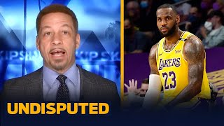 LeBron calls out criticism of Lakers' roster in now deleted tweet — Broussard | NBA | UNDISPUTED
