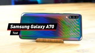Samsung Galaxy A70: Viel Display für knapp über 300 Euro